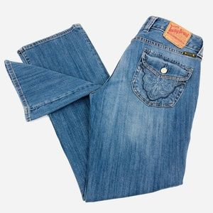 Lucky Brand Regular Inseam Back Flap Pockets 8